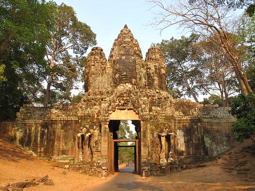 Angkor Thom Gate Cambodia