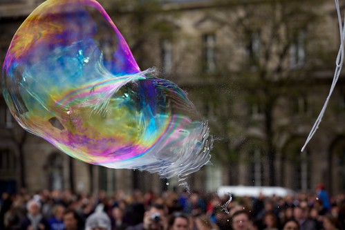 Bubble Bursting by Duncan Rawlinson - @thelastminute - Duncan.co, on Flickr