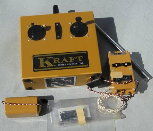 KRAFT SERIES 71 Radio Control System