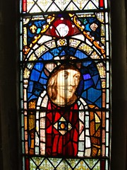 King Henry VII of England (Brownie Bear) Tags: new old uk horse white church window glass saint st parish james king britain district united great kingdom vale stained henry gb berkshire oxfordshire vii berks radley
