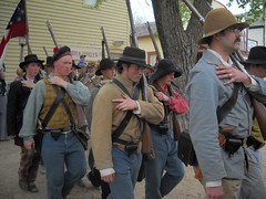 Rebs at Old Cowtown (99kps) Tags: war weekend civil wichita cowtown