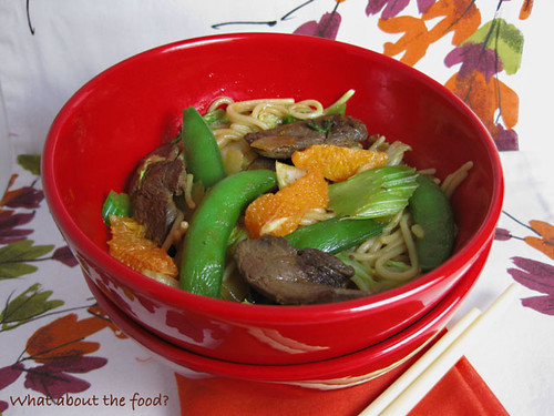 Orange Duck Stirfry