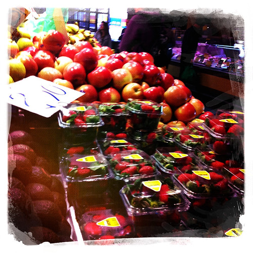 Stocking up on fruit. Day 205/365.
