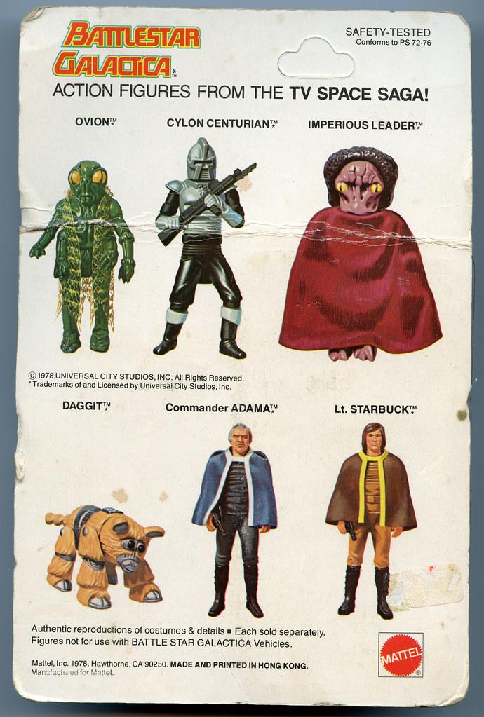 Battlestar Galactica Toys - Cardback