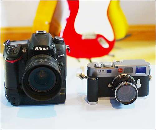 Nikon D7000 35mm f/1.8 Leica M9