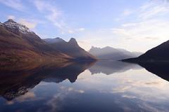 Evening in Storfjord (John A.Hemmingsen) Tags: seascape reflection water landscape nikon troms d600 storfjord wondersofnature sigma35mm14dg