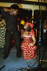 Gifty NaaDK from Ghana Etome with Sopie from Cte d'Ivoire Dancing at the Africa Centre London March 2001  073 (photographer695) Tags: gifty from ghana africa centre mar 2001 083 sophie dancing naadk etome with sopie cte divoire london march