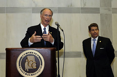 10-02-13 Governor Bentley congratulates ADECA on 30 years of service