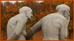 Age and wisdom (K. Haagestad) Tags: frognerparken sculptures thevigelandpark