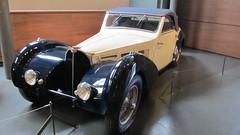 "Bugatti Type 57 ""Atalante"" 1937 (v8dub) Tags: auto old france classic car museum frankreich automobile cit voiture muse alsace oldtimer oldcar bugatti oldcars elsass collector mulhouse wagen pkw klassik atalante"