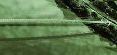 Bridge over green water (Fotos4RR) Tags: bridge green inn grün brücke neuburg wernstein dblringexcellence tplringexcellence vpu1 vpu2 vpu3 vpu4 vpu5 vpu6 vpu7
