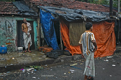 Living on the streets of Kolkata copy (Linda Schaefer photography) Tags: clothing nikon indian kolkata slums livingonstreet lindaschaefer lindaschaeferphotographer lindaschaeferphotography