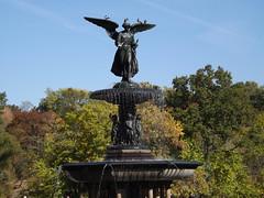 Bethesda Fountain, Central Park Autumn Colors, Central Park, New York City (lensepix) Tags: newyorkcity centralpark autumncolors bethesdafountain centralparkfallcolors centralparkautumncolors