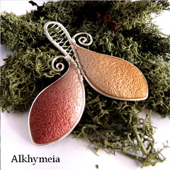 VegetAria in Oro e Rame O3, front side (Alkhymeia) Tags: autumn white green art fall nature leaves work silver wrapping spiral liberty gold necklace leaf wire natural artistic handmade spirals unique ooak magic deep wrapped jewelry bijoux pasta jewellery polymerclay fimo fairy fantasy clay wicked copper handcrafted swirl bud lovely fairies elegant wearable nouveau delicate emerald autumnal pendant enchanted whimsical handcraft wiccan elvish polymer wirework neckpiece premo bijouterie wirewrapped arcilla argilla artigianato incantato artigianale polimer spirali bizuteria sintetica polimerica arcillapolimerica polimerkil alkhymeia alkymeia alkhy alkimeia