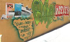 """Quand l'argent parle, la raison """"ce"""" tai$ (Jeanne Menjoulet) Tags: marseille panier argent raison graffiti france affiche fn"""