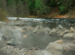 Clackamas River Hot Springs
