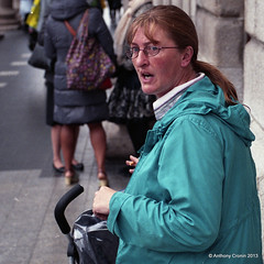 Reaction (Anthony Cronin) Tags: ireland analog superia irelanddublin inner street fuji irishlife street 200 dublinlife dublin dublinirish streetsdublin dublinliving dunne tpastreet photangoirl dublinirelandnikonf7550mmf14d50mmf14danthonycroninallrightsreservedirishphotographystreetsdublinstreetphotographystreetsofdublin