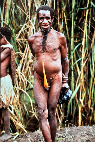 Western New Guinea - Baliem Valley - Dani Man - 03