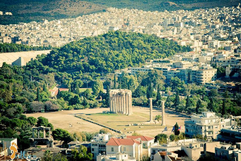 Templo a Zeus Olímpico (Olympeion) Atenas
