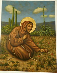 Lima Convento de San Francisco pinturas 06 (Rafael Gomez - http://micamara.es) Tags: peru church de grande san francisco lima basilica jesus iglesia el per convento pinturas baslica asis ass