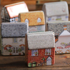VINTAGE HOUSE CASE (Crafty Brid Me) Tags: original house cute love set vintage happy nice colorful stitch handmade embroidery sewing crafts small decoration arts creative tools storage gifts needle stitches friendly present designs lovely supplies durable stitcher