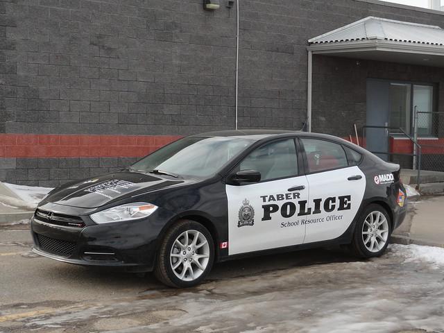 police alberta dodge dart 2014 taber