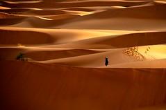 Perdida. (Victoria.....a secas.) Tags: desert dunes explore desierto marruecos dunas shara