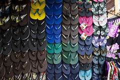 Thongs 6992 (Ursula in Aus) Tags: thailand display thongs footwear kohsamui flipflops colourful bophut ประเทศไทย ไทย เกาะสมุย earthasia totallythailand