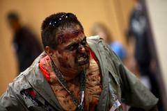 Zombie cosplayer (Gage Skidmore) Tags: arizona phoenix amazing comic cosplay zombie center convention con