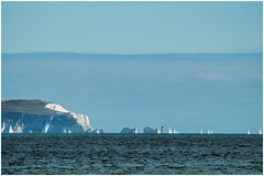 The Needles (The real Brooxsie) Tags: sea boat seaside sony dorset englishchannel seaview mudeford isleofwhite theneedles sailingboat mudefordbay sonyslta57