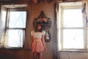 (yyellowbird) Tags: house selfportrait abandoned girl mirror illinois lolita cari