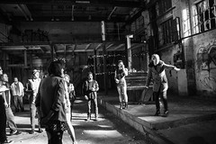 Warsnare 'Land Of Plenty' - Warehouse Shoot (gearidhayes) Tags: lighting contrast photography blackwhite video shoot moody colours darkness scope cinematography epic depth immense dystopian landofplenty grandiose warsnare