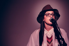 Emily Kopp ({fuh•tog•ruh•fee} via Rohama Bruk) Tags: music musicians canon concert miami live young {vision}:{sunset}=07 {vision}:{outdoor}=0595 {vision}:{sky}=0799