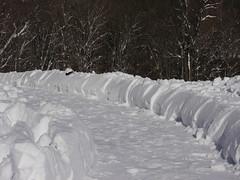 Snow highway, northbound