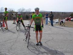 Tom survived the second race after crash