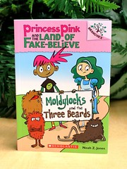 Moldylocks and the Three Beards (Vernon Barford School Library) Tags: new pink school fiction 3 reading book three high humorous princess tales library humor reads fake beards books humour read paperback fairy cover believe junior land novel covers bookcover middle vernon quick tale recent qr bookcovers paperbacks novels fictional humourous barford softcover quickreads quickread fakebelieve vernonbarford softcovers superquickpicks moldylocks 9780545638395