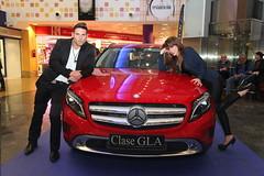 20-Citycar Sur presenta los nuevos Mercedes-Benz Clase C y GLA con la espectacular actuación de Nancys Rubias