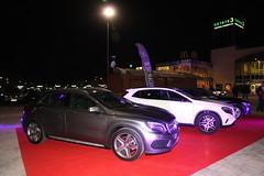 9-Citycar Sur presenta los nuevos Mercedes-Benz Clase C y GLA con la espectacular actuación de Nancys Rubias