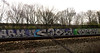 graffiti (wojofoto) Tags: holland amsterdam graffiti cool nederland railway netherland rails spoor trackside spoorweg cool1 toptoy wojofoto