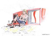 Kamandi Comission (Davezissou) Tags: art illustration comics jack kirby kamandi
