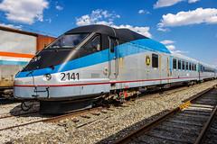 Amtrak Turbo Power Car 2141 (MIDEXJET (Thank you for over 2 million views!)) Tags: bear unitedstatesofamerica delaware