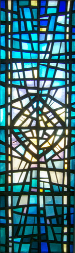 Stained Glass Window, Skálholt Cathedral, Bláskógabyggð