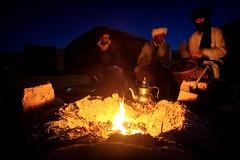 Sahara nights (Klas-Herman Lundgren) Tags: morocco northafrica sahara desert öken sahari mhamid tea fire eld lägereld