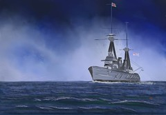 HMS New Zealand in the Southern Ocean (Pat McDonald) Tags: artrage australia battlecruiser battleship britain fleet england dreadnought digitalart dghaisas churchill britishisles forceh gibraltar grandfleet grandharbour harryroughers heavyweather hmsnewzealand mediterraneanfleet mediterranean malta homefleet navy newsouthwales newzealand portsmouth storm ship secondworldwar sea scapaflow scotland sailor royalnewzealandnavy royalnavy roughseas uk waves whiteensign