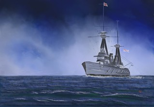 HMS New Zealand in the Southern Ocean