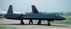 Lockheed SR-71A Blackbird, 17980, 9th Strategic Reconnaissance Wing, Mildenhall Air Force Base, 10 July 85 (Anne Fintelman) Tags: sr71 17980 mildenhallairforcebase blackbird lockheed 9thstrategicreconnaissancewing 9srw