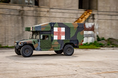 M997A3 - Ambulance configuration (AM General) Tags: hummer am general humvee ambulance military combat vehicle