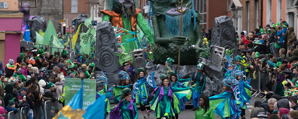THE INISHOWEN CARNIVAL GROUP [PATRICKS DAY PARADE IN DUBLIN 2017]-126016