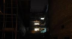 The Alleyway (Mars Mann) Tags: nightphotography darkness streetphotography lights urbanphotography dark eerie lowlight olympus marsmannphotography olympusem1 darkcity urbanstreets urbancity lightshadow