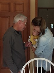 "Dani Looks at Grandpa Morton • <a style=""font-size:0.8em;"" href=""http://www.flickr.com/photos/109120354@N07/32957410002/"" target=""_blank"">View on Flickr</a>"
